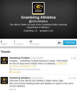 Grambling twitter
