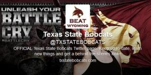 Texas State twitter