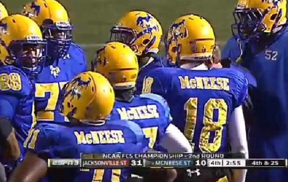 Get in there McNeese! No not you. I was talking to McNeese.
