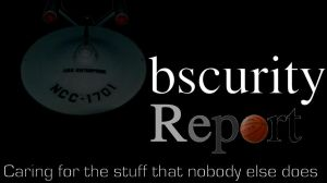 Obscurity Report new