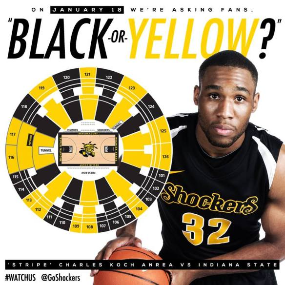 With a pinwheel like this how can the Shockers not get a No. 1 seed.